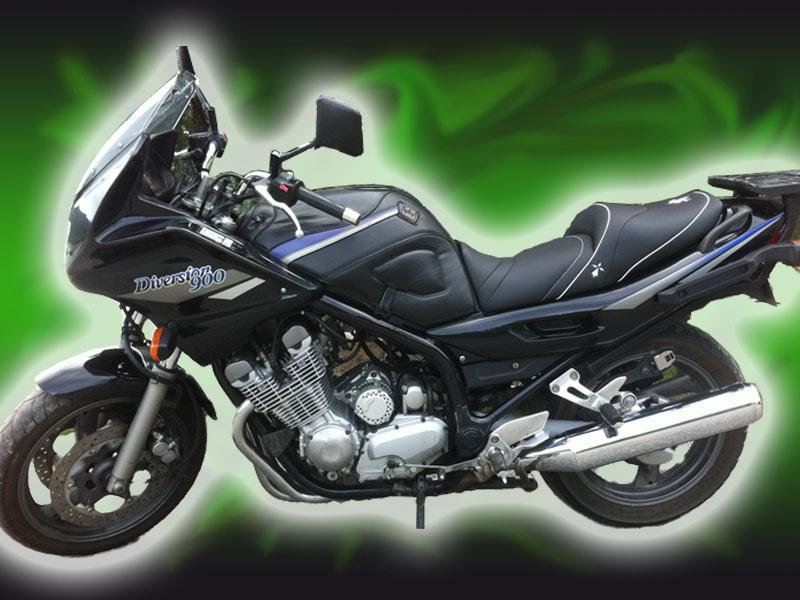 Sellerie moto | Vente selle confort personnalisée pour moto YAMAHA routières {C&R Création}